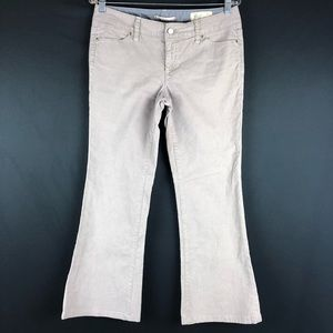 Gap Gray Corduroy Flare Pants